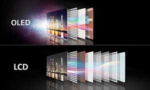 شکل1 - تلویزیون OLED اولد چیست