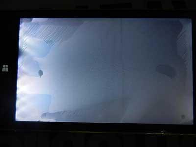 خرابی پنل تلویزیون