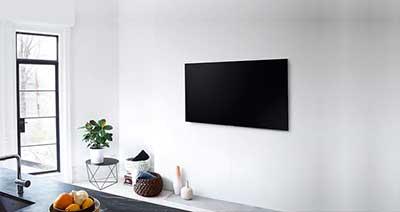 شکل1-نکاتی برای نصب تلویزیون روی دیوار