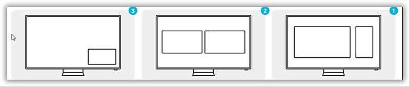شکل2 – تماشای همزمان در یک صفحه